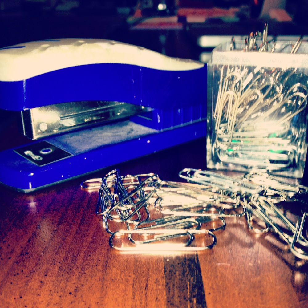 Elul, Paperclips and Staplers